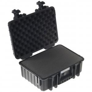 Equipment Storage Box With Soft Inserts